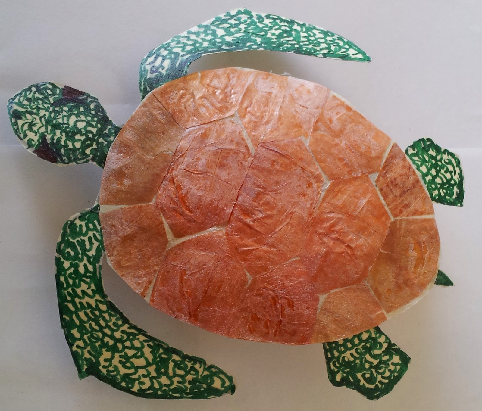 how to make a turtle craft