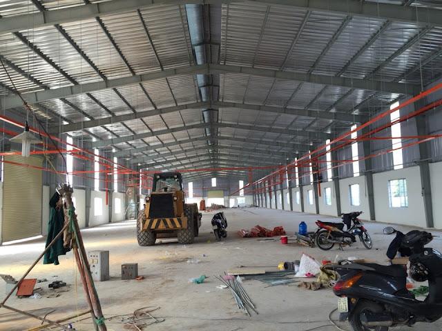 Cần cho thuê gấp nhà xưởng 2200m2 giá 80tr/tháng Hiệp Thành Q12