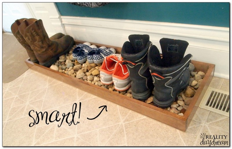 Decoración-con-bandejas-de-zapatos