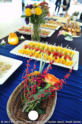 Vernissage Buffet for VIP