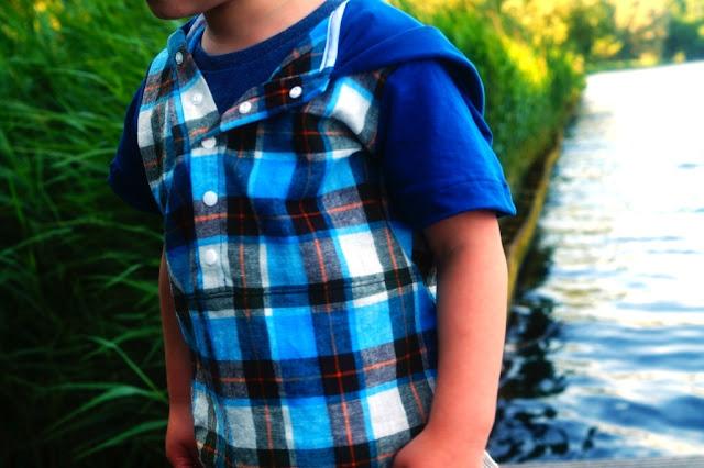 a Nutta Mulberry Tunic (pattern Kid Approved) sewn by huisje boompje boefjes