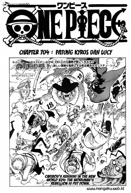 "Download Komik One Piece Chapter 704 ""Patung Kyros dan Lucy"" Bahasa Indonesia"