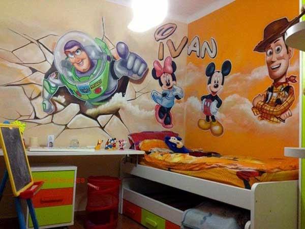 Habitación de Walt Disney