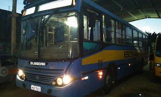 Prefeitura de Cuité reforma ônibus que transporta universitários