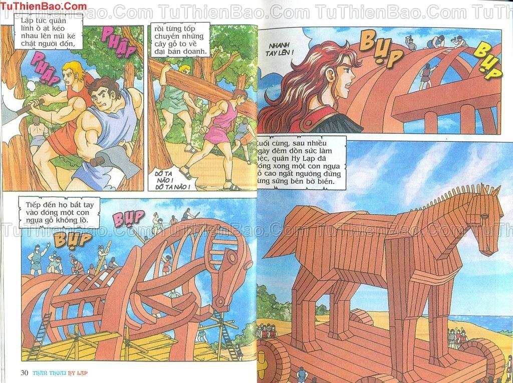 Thần thoại Hy Lạp Chapter 14 - Trang 14