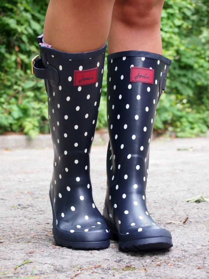 Dotted Rain Boots   Joules Giveaway ~ Suburban Faux-Pas