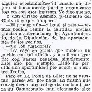 Crónica de Fernando Isaac Fernández en el diario Madrid sobre el III Torneo Nacional de Ajedrez de La Pobla de Lillet 1957 (6)