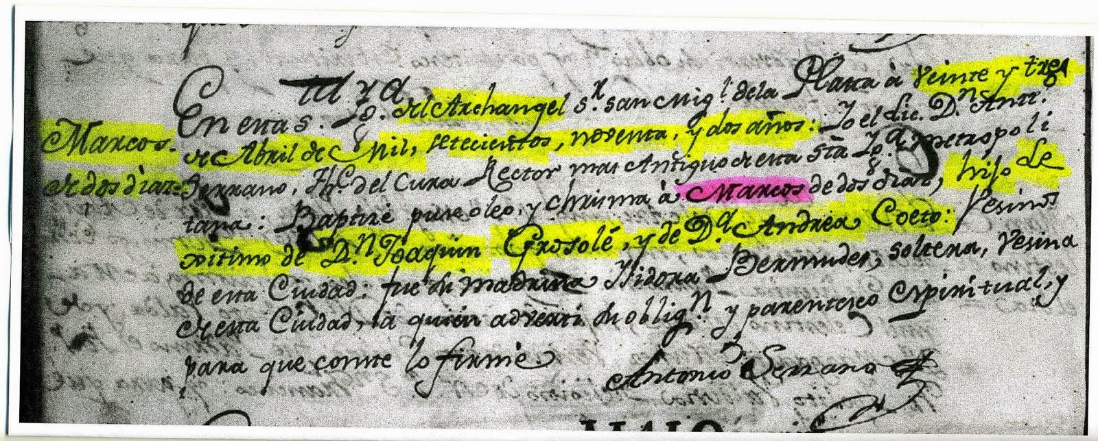 Genealogía en Bolivia: El Presidente de Bolivia Hilarión Daza ...