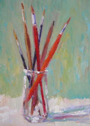 Amy whitehouse paintings artist supplies original oil for Canvas painting supplies
