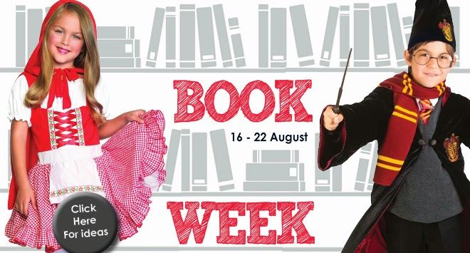 Inside The Costume Box: Top 5 Girls Book Week Parade Costumes 2014