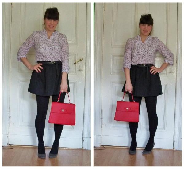 30 Kleidungsstücke für 30 Tage ergeben 30 verschiedene Outfits Tag 7