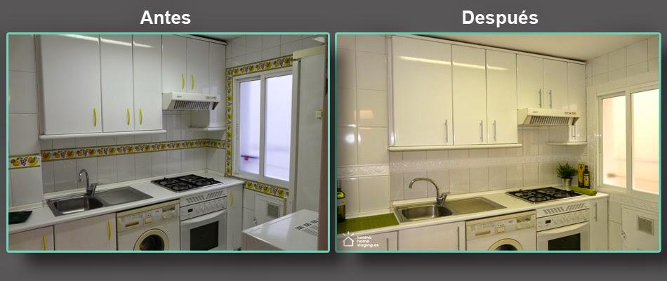 Muymuyyo renovamos los azulejos - Cocinas con azulejos pintados ...