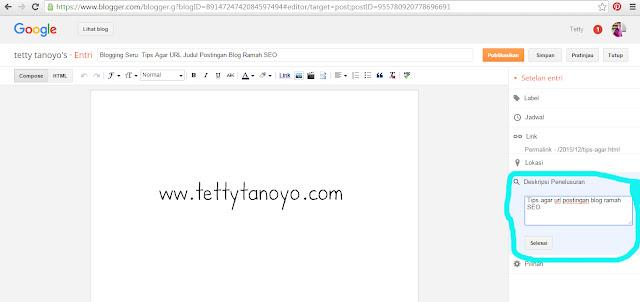 agar url judul postingan blog ramah seo