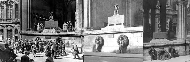 La loggia venne costruita tra il 1841 ed il 1844 su progetto di Friedrich von Gärtner, per volere di Ludwig I. La loggia venne costruita sul luogo su cui prima sorgeva lo Schwabinger Tor, adiacente al Palais Preysing, e per il progetto Gärtner si ispirò alla Loggia della Signoria di Firenze. La loggia venne costruita per onorare gli eroi della Baviera. È alta 20 metri, ha una tripla arcata e vi si accede mediante una scalinata posta al centro. Le sculture dei leoni poste ai lati della scalinata, opera di Wilhelm von Rümann, vennero aggiunte nel 1906. La loggia ospita le statue del conte di Tilly, condottiero della guerra dei Trent'anni, del conte von Wrede, maresciallo dell'età napoleonica ed una allegoria dell'esercito bavarese : tutte le statue sono opera di Ferdinand von Miller.