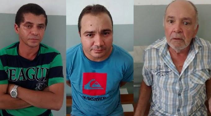 Caxias: Preso trio suspeito de aplicar golpes em clientes de bancos.