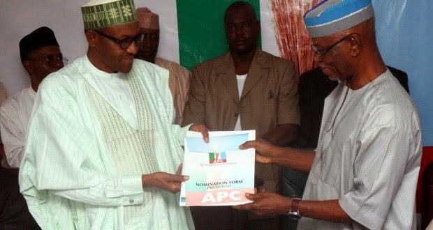 Buhari,APC,Nomination Forms