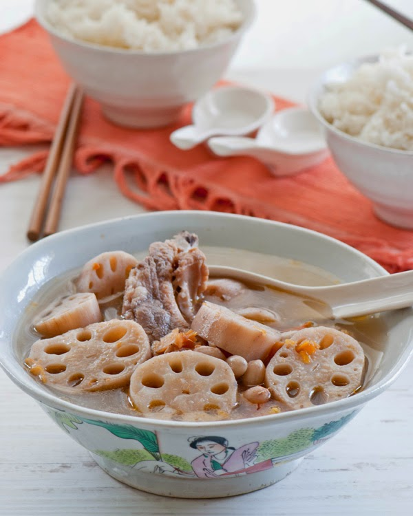 how to make lotus root soup