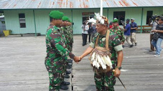Panglima TNI kunjungi Prajurit TNI di Pedalaman Papua