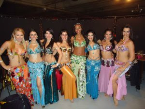 Aulas de dança do ventre Luxor