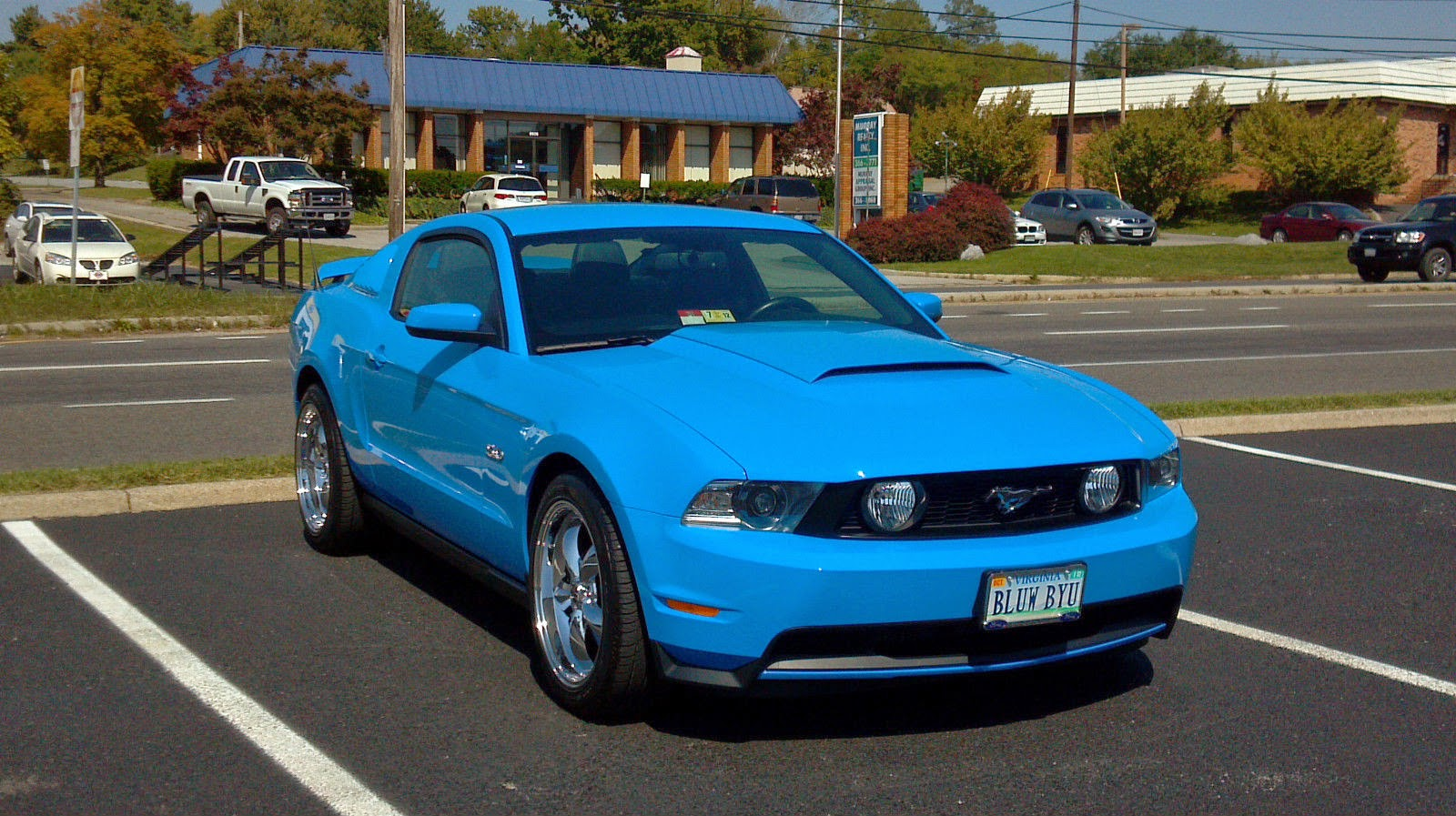 2011 Grabber Blue Ford Mustang GT50 For Sale American