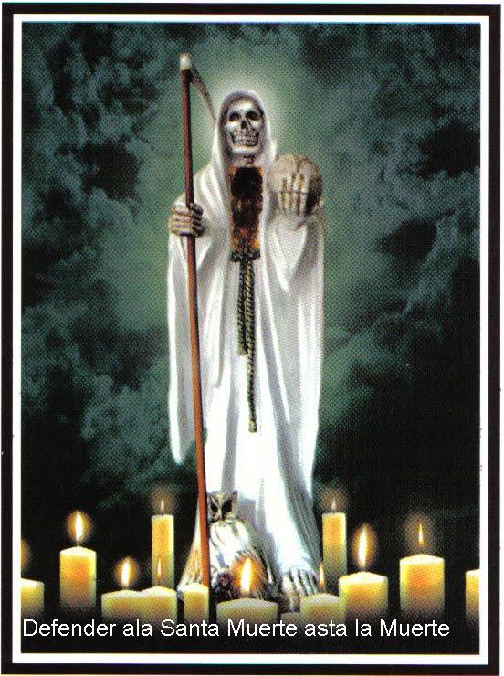 libro de la santa muerte: