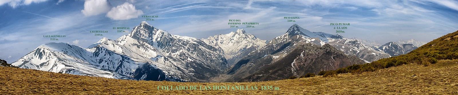 panorámica Curavacas-PeñaPrieta-Pico Lezna