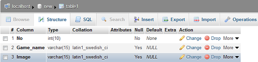 change column definition in mysql