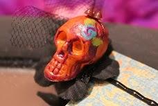 Sophia's Hand Painted Dia De Los Muertos Pins