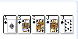 Royal Flush, (Najača Karta)