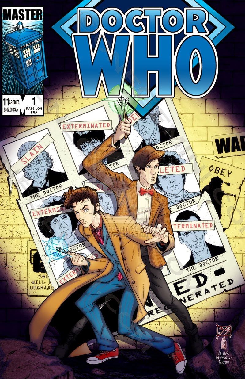 Dr. Who Homenaje Uncanny X-Men 141