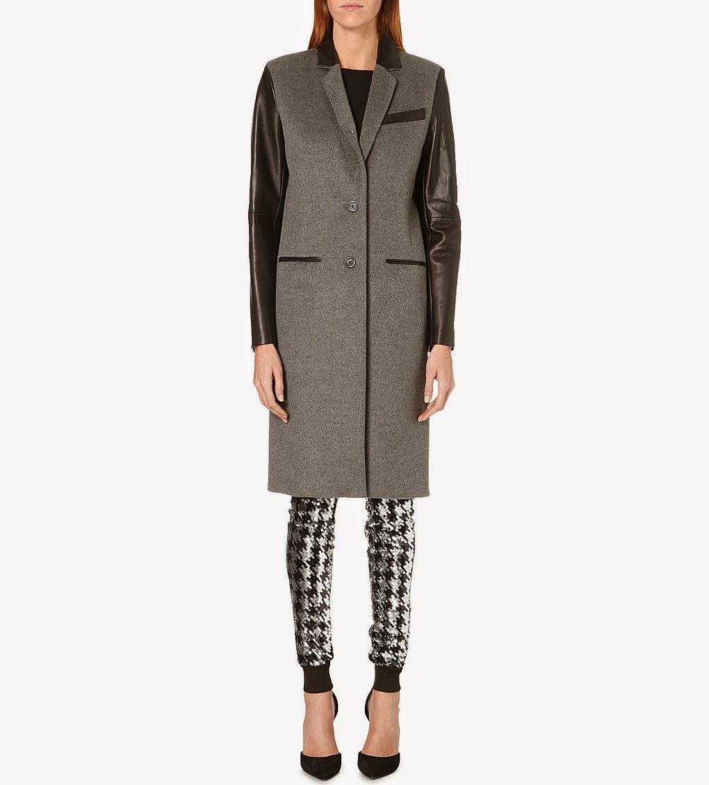 michael kors grey coat