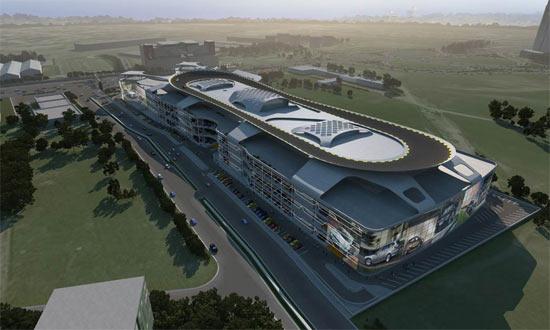 Mall Autopia Europia penjualan mobil terbesar
