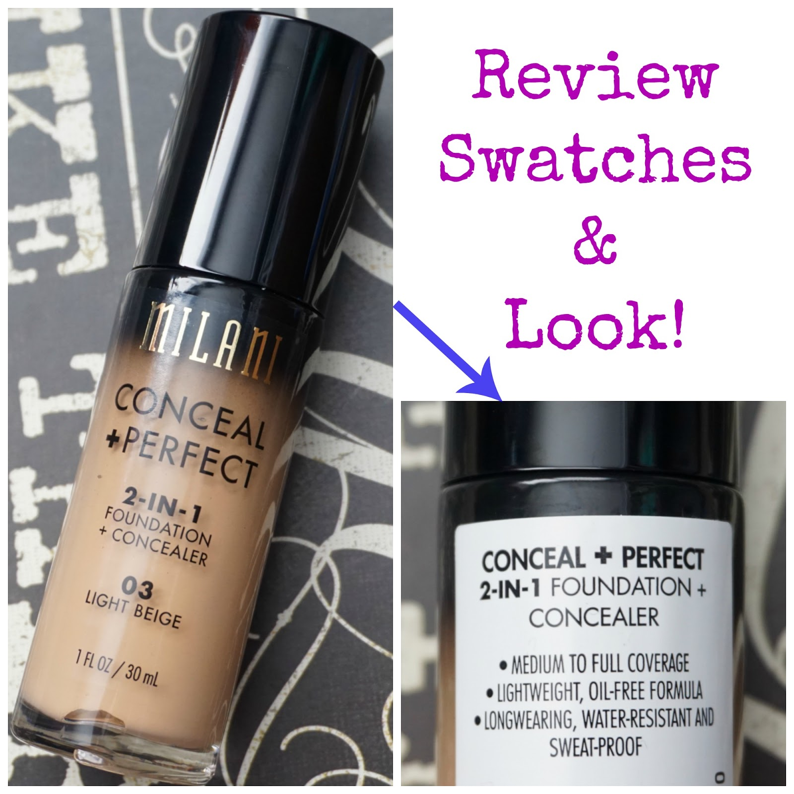 Makeup, Fashion & Royalty: Must Haves: Milani Conceal + Perfect 2 ...