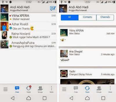 BBM Mod Iphone Apk Terbaru v2.7.0.23