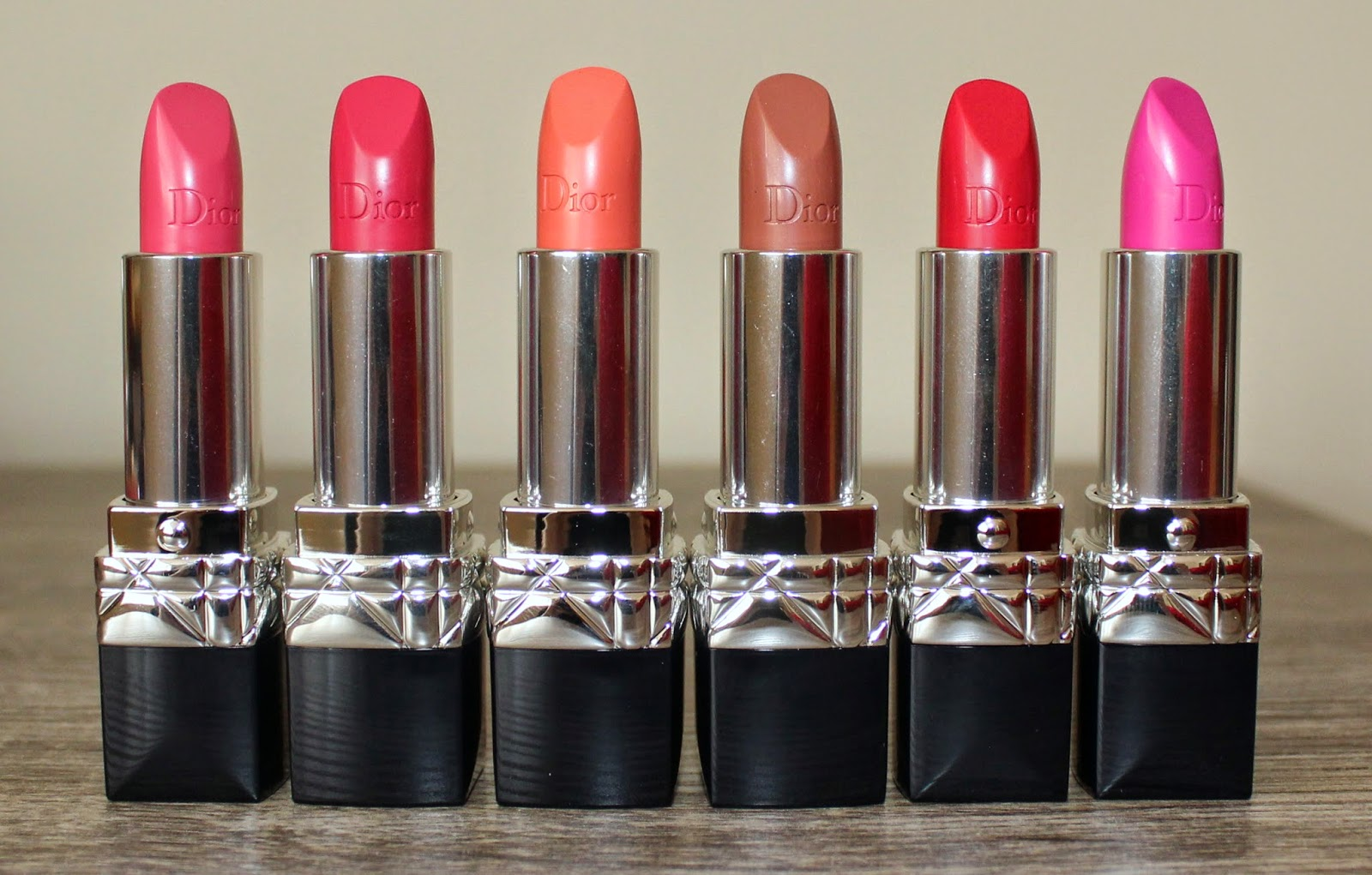 Dior Rouge Dior Lipsticks New Spring 2015 Shades