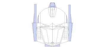 menggambar transformers