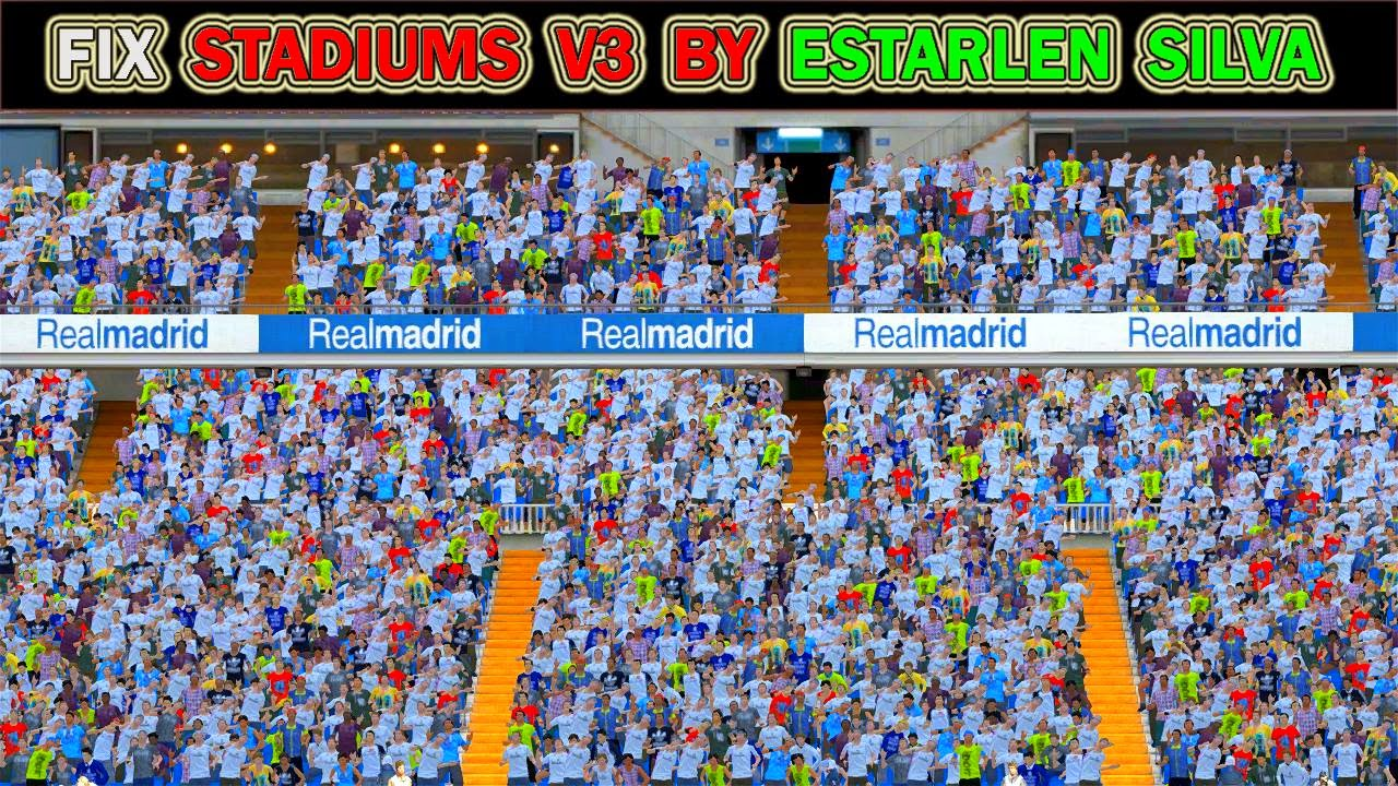 PES 2015 Stadium Pack V3 FIX