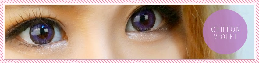 Chiffon Violet will definitely make your eye look stunning!