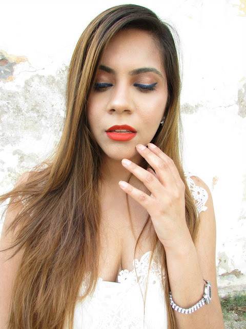 Sonam kapoor Loreal Cannes Collection  2015 Inspired Makeup Tutorial, loreal, makeup, blue eyeliner, how to wear blue eyeliner, best orange lipstick, loreal pure reds collection, L'Oreal Super Liner Gelintenza,  L'Oreal Cannes collection 2015 Price Review Swatches, L'Oreal Moist Mat Lipstick, L'Oreal L'Extraordinaire Liquid Lipsticks, L'Oreal Super Liner Gelintenza, L'Oreal Color Rich lipstick, makeup,Loreal india,latest makeup trends 2015,loreal cosmetics india,sonam kapoor cannes collection, katrina Kaif cannes collection, cannes 2015,liqid lipstick, gel eyeliner, matte lipstick, colored gel eyeliner,royal blue eyeliner, lipstick, eyemakeup,best matte lipstick india,beauty , fashion,beauty and fashion,beauty blog, fashion blog , indian beauty blog,indian fashion blog, beauty and fashion blog, indian beauty and fashion blog, indian bloggers, indian beauty bloggers, indian fashion bloggers,indian bloggers online, top 10 indian bloggers, top indian bloggers,top 10 fashion bloggers, indian bloggers on blogspot,home remedies, how to