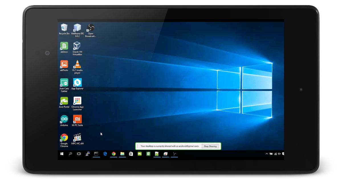 Android Er Remote Control Windows 10 From Android Using