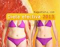 Dieta efectiva 2013