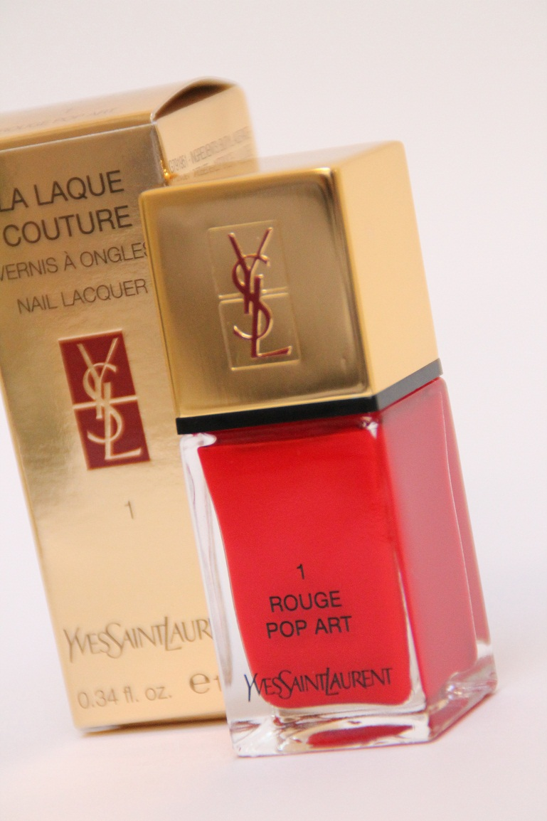 Ysl la laque couture 1 rouge pop art for What s a couture pop
