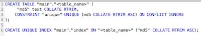 SQLite Command