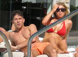 Jasmin Walia Bandeau Bikini Las Vegas