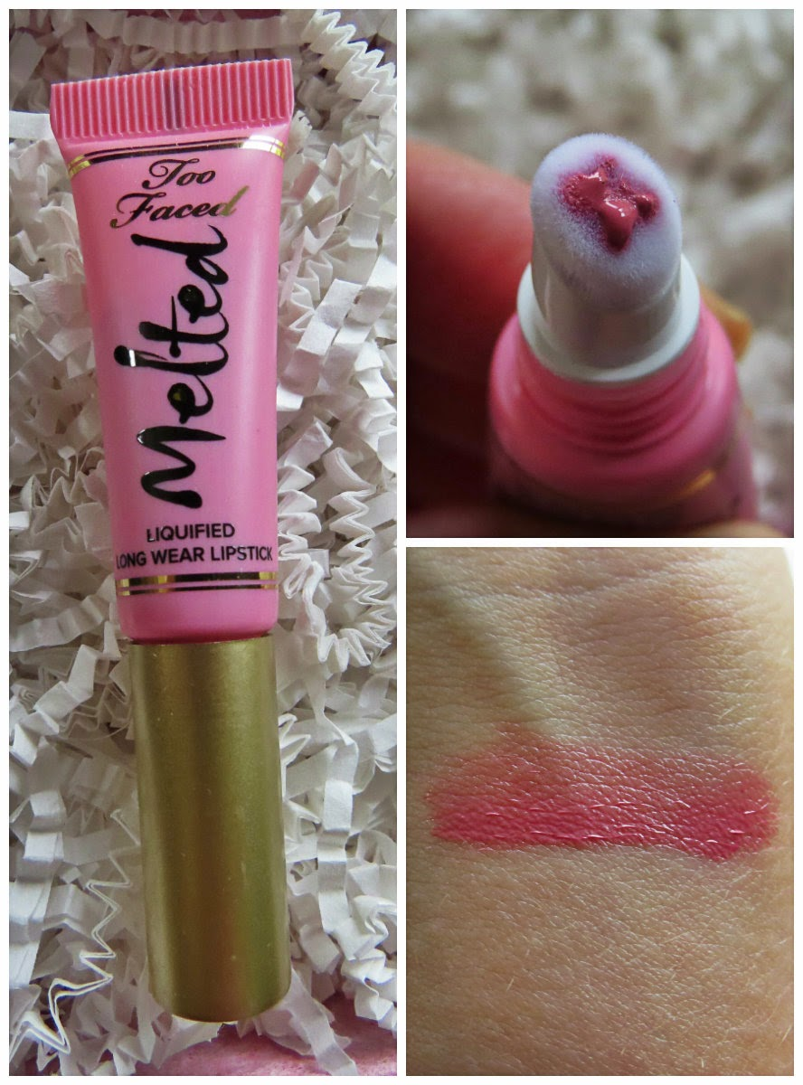 Too Faced Melted Liquified Long Wear Lipstick, Melted Peony