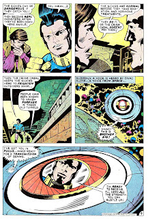 Omac v1 #6 dc bronze age comic book page art by Jack Kirby