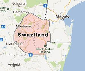 Swaziland_google_map