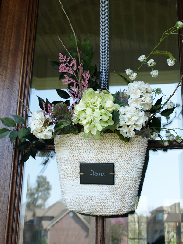 Nice Front Door Flower Basket How To | Less Than Perfect Life Of Bliss | Home,  Diy, Travel, Parties, Family, Faith,