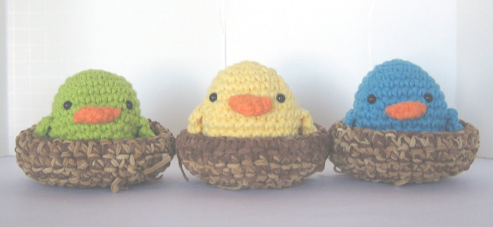 My favorite free crochet patterns: Easter Chicks