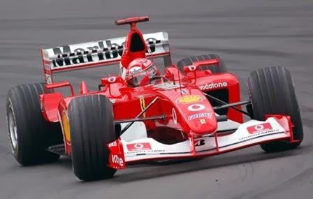 Formula 1 2002 Michael Schumacher/ Ferrari